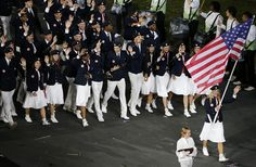 London Olympic Opening Ceremony: Team USA #olympics