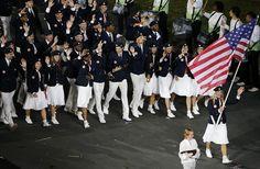 London Olympic Opening Ceremony: Team USA #olympics