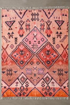 Shop Aziza Printed Chenille Rug at Urban Outfitters today. We carry all the latest styles, colors and brands for you to choose from right here. Jute Rug, Woven Rug, Inexpensive Home Decor, Classic Rugs, Curtain Patterns, Chenille, Shops, Warm Colors, Vibrant Colors