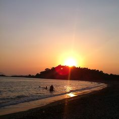 Calis Beach, Turkey...how often did we watch this sunset