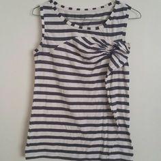 Ann Taylor LOFT striped top Preloved good condition Size XS Striped sleeveless top Ann Taylor LOFT Tops Tank Tops