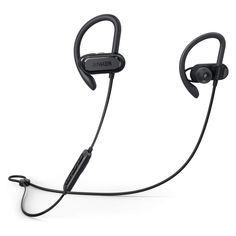 Bluetooth Headphones, Soundcore Spirit X Sports Earphones by Anker, with Wireless Bluetooth Battery, SweatGuard Technology, Secure Fit for Sport and Workouts by Soundcore - Shop Online for Electronics in New Zealand Sport Earbuds, Thing 1, Bluetooth Headphones, 30, Technology, Things To Sell, Sports, Workouts, Archive