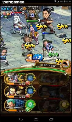 One Piece Treasure Cruise - Manga and anime characters fight waves of enemies Mobile Game, Anime Characters, Cruise, One Piece, Manga, Enemies, Games, Art, Art Background