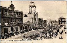 El Presidente José Manuel Balmaceda, en 1888, aprobaba la ley que fijaba como edad para poder sufragar, los 21 años. Llegaba a la presidencia de Bolivia, don Aniceto Arce, a quien se debe la prolongación del ferrocarril hasta Oruro en 1892. Por su parte, la Compañía Huanchaca de Bolivia iniciaba los primeros pasos que dieron origen al gran Establecimiento Metalúrgico de Playa Blanca que laboró por diez años y que hoy conocemos como las Ruinas de Huanchaca.