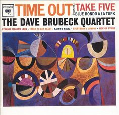 """Time Out"" The Dave Brubeck Quartet, 1959 by S. Neil Fujita"