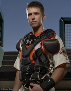 San Francisco Giants Catcher #28 Buster Posey #SFGiants