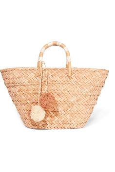 Kayu st tropez straw tote Great condition and perfect for summer! Not even sure I want to give it up so price is firm Kayu Bags Totes Straw Handbags, Tote Handbags, Striped Tote Bags, Straw Tote, Basket Bag, Cheap Bags, Beach Tote Bags, Tote Purse, Purses