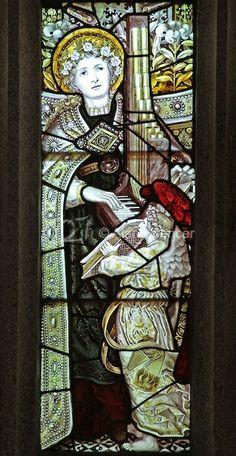 Some Pictures, Beautiful Images, Celtic, Art Nouveau, Catholic, Glass Art, Saints, Painting, Victorian Goth