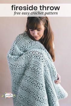 Crochet Fireside Throw (with Erica!) - Sewrella