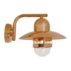 Nordlux Outdoor Nibe Copper Wall Light