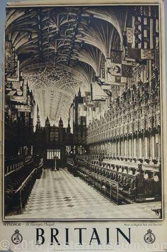 Britian- WINDSOR- St. George's Chapel