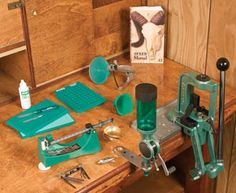 Rock Chucker home reloading kit by RCBS I really like reloading ammo. Even more though I like shooting my firearms.