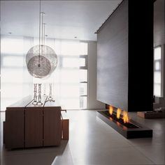 20 Contemporary Fireplace Ideas
