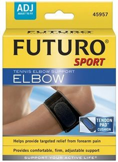 92ff5eb62b25f4 Futuro Sport Tennis Elbow Support Adjust To Fit Pack of 6 * Visit the image  link more details.