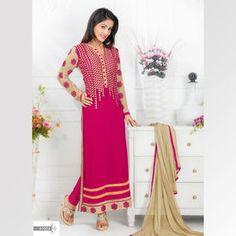 hina-khan-long-designer-pink-salwar-kameez