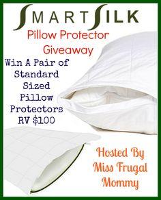 SmartSilk Pillow Protector Giveaway - The Stuff of Success Exp 5/6