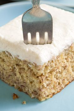 To Die For Banana Cake with Vanilla Bean Frosting - Cooking Classy