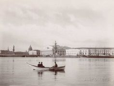 Russia, The Stock Exchange in St. Petersburg Photographie