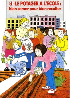 Des idées et des conseils pratiques pour mettre en place un potager à l'école.