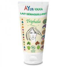Lait Démaquillant Bio au Triphala Ayur-Vana Ayurveda, Triphala, Shot Glass, Beauty, Circulation, Active, Aloe Vera, Boutique, Homemade Skin Care