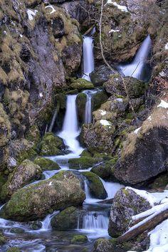 Kleiner Watterfall, Gesäuse National Park, Austria