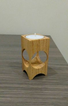 home made wooden candle holders Awesome Woodworking Ideas, Easy Woodworking Projects, Custom Woodworking, Wood Projects, Woodworking Supplies, Woodworking Beginner, Intarsia Woodworking, Woodworking Joints, Fine Woodworking