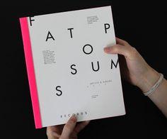 Fat Possum Artist Booklet by Elizabeth McMann, via Behance