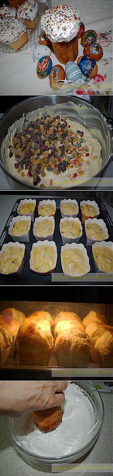 Кулич пасхальный - Кулинарные рецепты