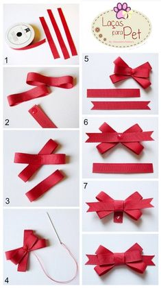 "Ways To Make Fancy Bows ""Back To School Cards with Bow Tutorial - Pebbles, Inc."", ""Bow Tutorial by Mendi Yoshikawa Yoshikawa"", ""Best bow tutorials - Diy Ribbon, Ribbon Crafts, Ribbon Bows, Paper Crafts, Ribbons, Ribbon Flower, Hair Bow Tutorial, Flower Tutorial, Pouch Tutorial"