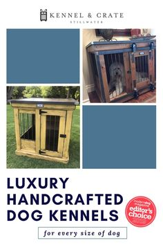 Handcrafted Dog Kennls Indoor dog kennels- husky, small, short, or tall. The perfect crate for your canine Diy Dog Kennel, Dog Kennels, Dog Furniture, Furniture For You, Urban Farmhouse, Dog Crate, Small Dogs, Crates, Husky