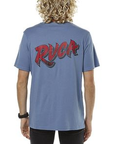 Get a makeover with this  Rvca Men's Runner Mens Tee Crew Neck Cotton Mens T-Shirts T-Shirt Tops Blue - http://www.fashionshop.net.au/shop/surfstitch/rvca-mens-runner-mens-tee-crew-neck-cotton-mens-t-shirts-t-shirt-tops-blue/ #Blue, #ClothingAccessories, #ClothingShirtsTopsTShirts, #Cotton, #Crew, #Men, #Mens, #Neck, #Runner, #Rvca, #Shirt, #SurfStitch, #T, #Tee #fashion #fashionshop