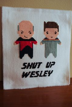 Shut Up Wesley by Cassey, via Flickr