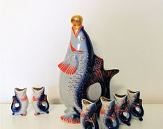 Antique Vintage and Collectibles things by Grandchildattic on Etsy Home Decor Signs, Soviet Union, Vintage Ceramic, Handmade Items, Etsy Seller, Miniatures, Antiques, Vintage Pottery, Antiquities