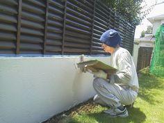 ジョリパットのエンシェントブリックで仕上げました。 | 外壁外兵衛|ブロック塀をオシャレに塗り替える|塗装より、ジョリパットや珪藻土、コンクリート打放し、漆喰が面白い!コンクリート塀(RC)でも大丈夫