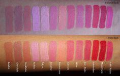 Love Naheeda: NYX SOFT MATTE LIP CREAM SWATCHES Nyx Cosmetics Lipstick, Lipstick Swatches, Makeup Swatches, Lipsticks, Nyx Soft Matte Lip Cream, Nyx Matte, Matte Lips, Lip Makeup, Makeup Stuff