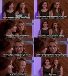 brooke and haley...I love their friendship