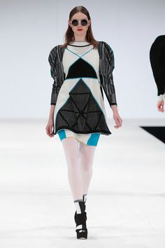 Jessica Espley, Fashion Knitwear and Knitted Textile course.  NTU