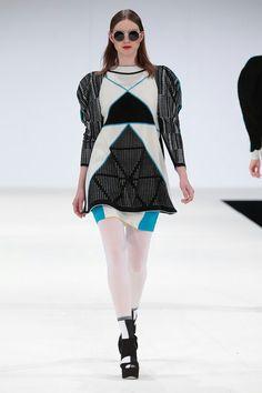 Jessica Espley, Fashion Knitwear and Knitted Textile course.  NTU