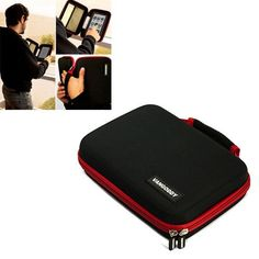 Vangoddy All in 1 eReader Accessories Cube, Black / Red Reinforced Carrying Case for All eBook Readers (Barnes and Noble Nook Color, Amazon Kindle, Sony Reader PRS Models, Pandigital Novel 7, Velocity Micro Cruz, Kobo eBook, ectâ?¦) by Vangoddy. $23.45. **Unique eBook Reader All in 1 Carrying Case ** This case is easily our most durable and well liked accessory for electronic reading devices. Main compartment is lined with Velcro felt, that when combined with the INCLUDED Ve...