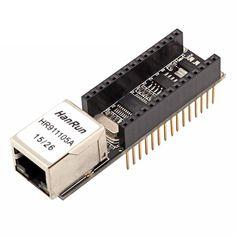 RobotDyn® Nano V3 Ethernet Shield 5V ENC28J60 Module Board For Arduino DIY