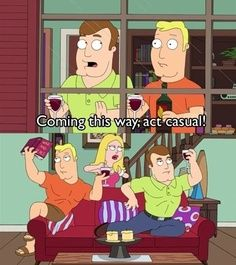 #AmericanDad #ActNatural I love me some Greg & Terry