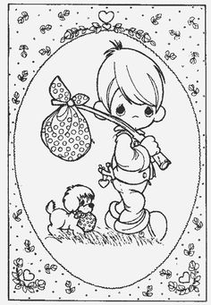 Cool Coloring Pages, Coloring Pages To Print, Free Printable Coloring Pages, Coloring Pages For Kids, Coloring Books, Kids Coloring, Precious Moments Coloring Pages, Copic, Digi Stamps