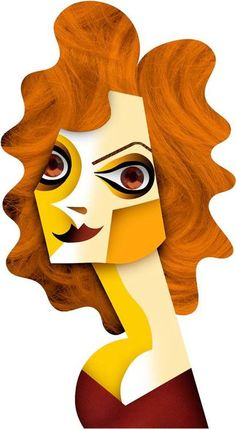 Susan Sarandon by David Cowles (Caricature)  http://masterpaintingnow.com/how-to-draw-everything?hop=dunway