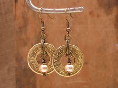 Token Jewelry  Authentic Brass Amusement Token by thekeyofa