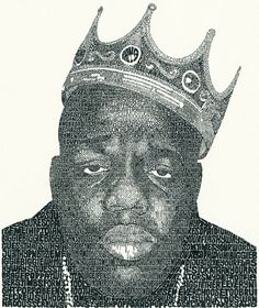 Micrography: Text Art and Typography - Biggie