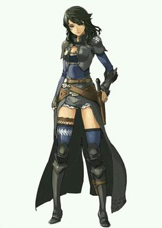 Female: Knight/ Hunter