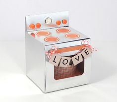 Amanda Coleman Chickaniddy Oven Party Gift Super Creative Wedding Party Favor +Cutting File!