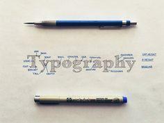 Sean Mccabe - Hand Lettered Type Anatomy