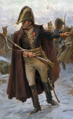 Marshal Ney's retreat from Russia by Paul Emile Boutigny (detail)