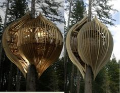Cabanes Bamboo Architecture, Container Architecture, Cabin Design, Bird Houses, Tree Houses, Glamping, Exterior Design, Sweet Life, Kids Playing